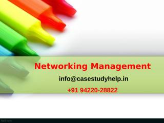 An IT Manager gets complaints from users that there is excessive delay in response over the Ethernet LAN.ppt