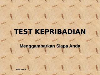 test kepribadian.pps