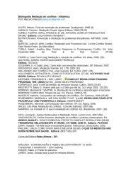 Bibliografia Mediação de Conflitos.doc