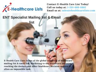 ENT Specialist mailing list & email list.pdf
