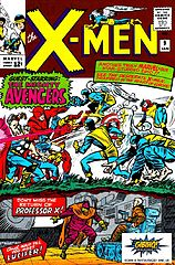 the uncanny x-men #009 (jan. 1965) - surgem os vingadores!.cbr