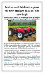 Mahindra & Mahindra gains for fifth straight session hits new high.pdf