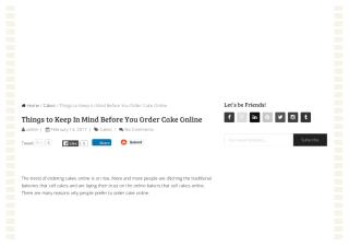 Tips To Order Cake Online.pdf