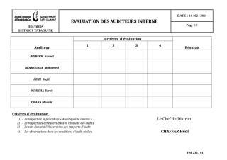 evaluation des auditeurs.doc