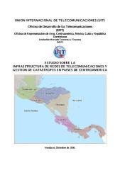 Infraestructura de telecomunicaciones para manejo de desastres.pdf