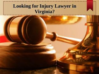 Injury Lawyer Washington.ppt