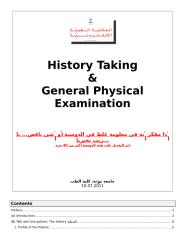 Introduction, History Taking, and General Physical Examination 11.03.2011.docx