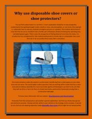 Disposable shoe covers.pdf