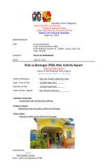Pulis sa Barangay (PSB) After Activity Report - 6.docx