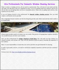 Hire Professionals For Domestic Window Cleaning Services.pdf