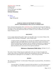 22-D-4-Judicial Notice of my Right to Travel exhibit.doc