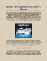 Benefits Of Using Premium WordPress Themes.pdf