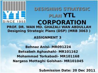 YTL Group Assignment 3.ppt