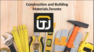 Construction and Building Materials,Toronto.pptx