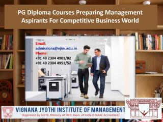 PG Diploma Courses Preparing Management Aspirants For Competitive Business World.pdf