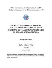 Armonizacion del uso de frecuencias en Centro America.pdf
