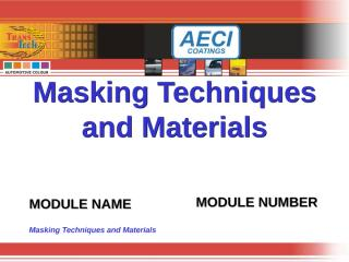 Masking Techniques.ppt