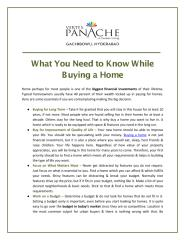 What You Need to Know While Buying a Home.pdf