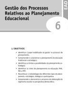 OPTATIVA DE FORMAÇÃO II - UND 6 - Gestão dos Processos Relativos ao Planejamento Educacional.pdf