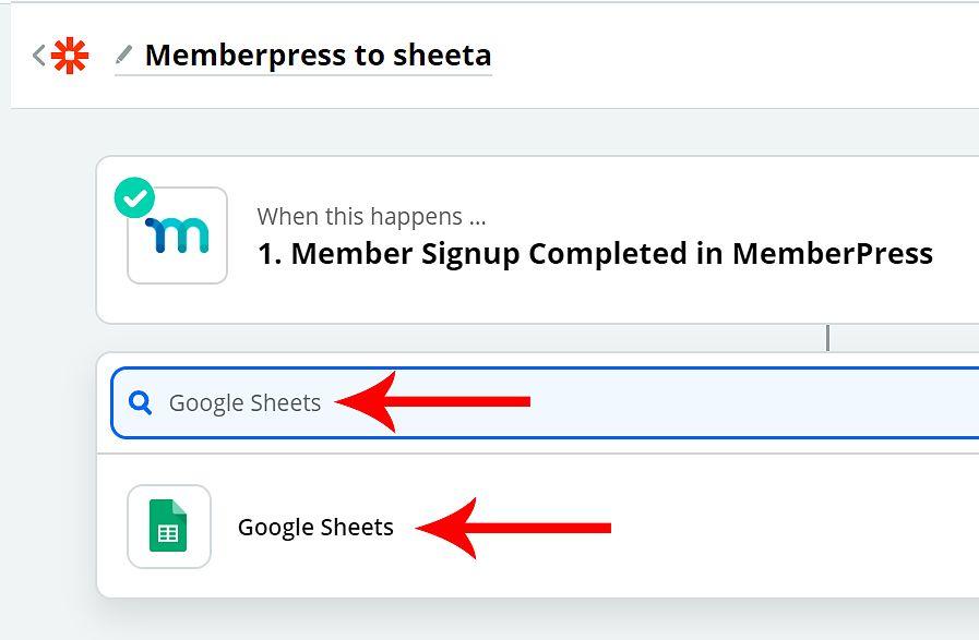 Connect Zapier and MemberPress