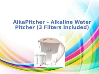 Alkaline water system - Improve taste of your water.pptx