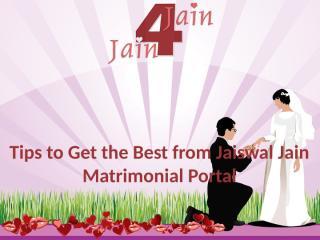 Jaiswal Jain Matrimonial Portal.pptx